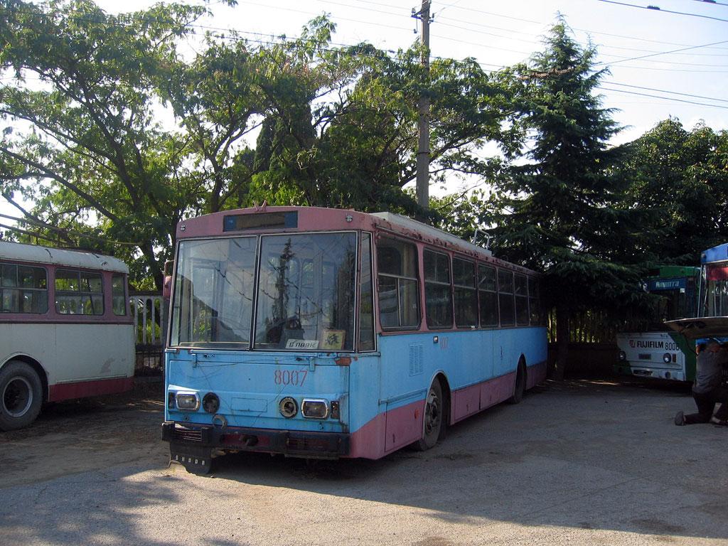 новый маршрут троллейбуса 15 симферополь схема